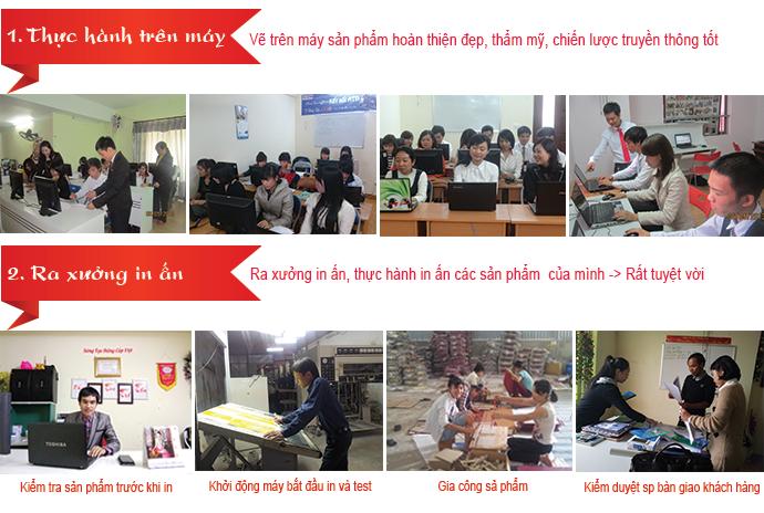 Nơi học tập và làm việc tại công ty Việt Tâm Đức